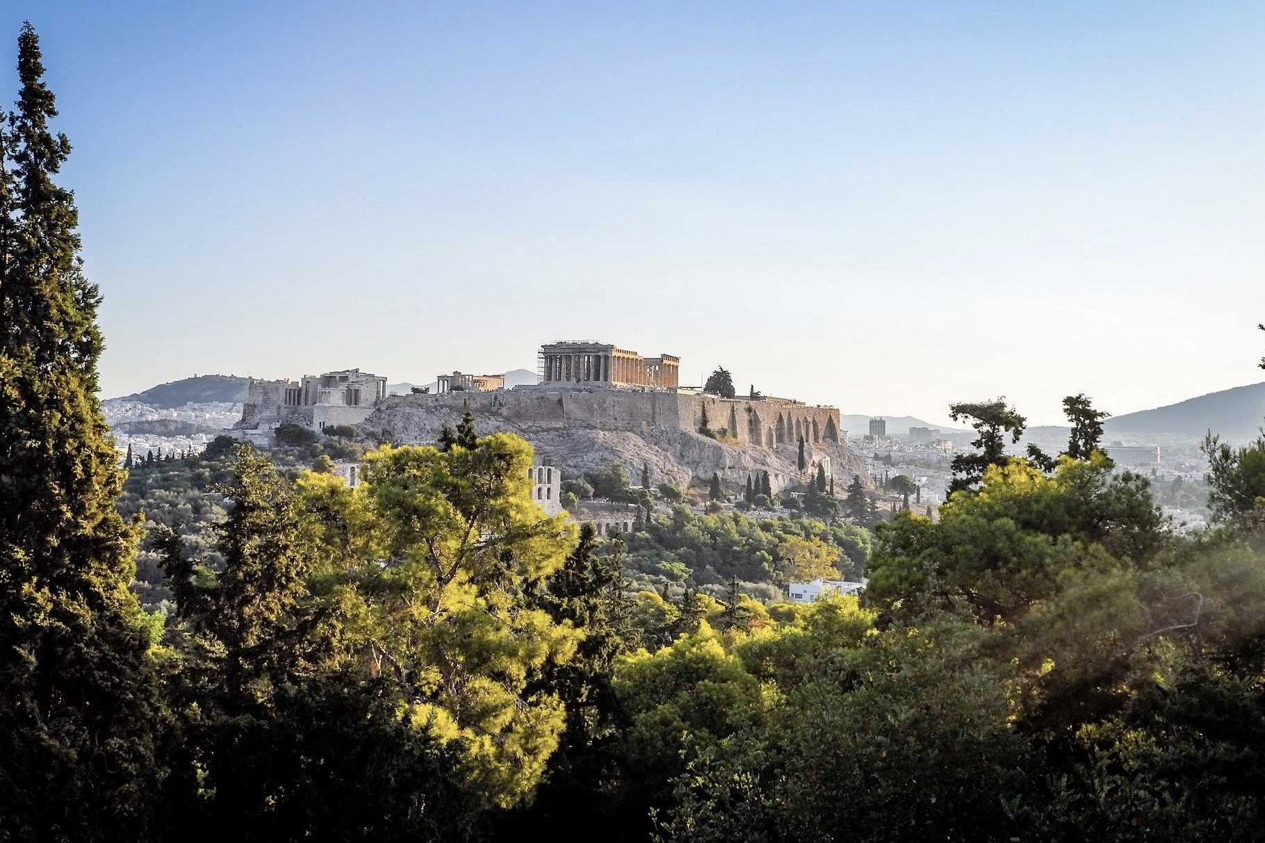 Athen ist ein gutes Reiseziel im Mai