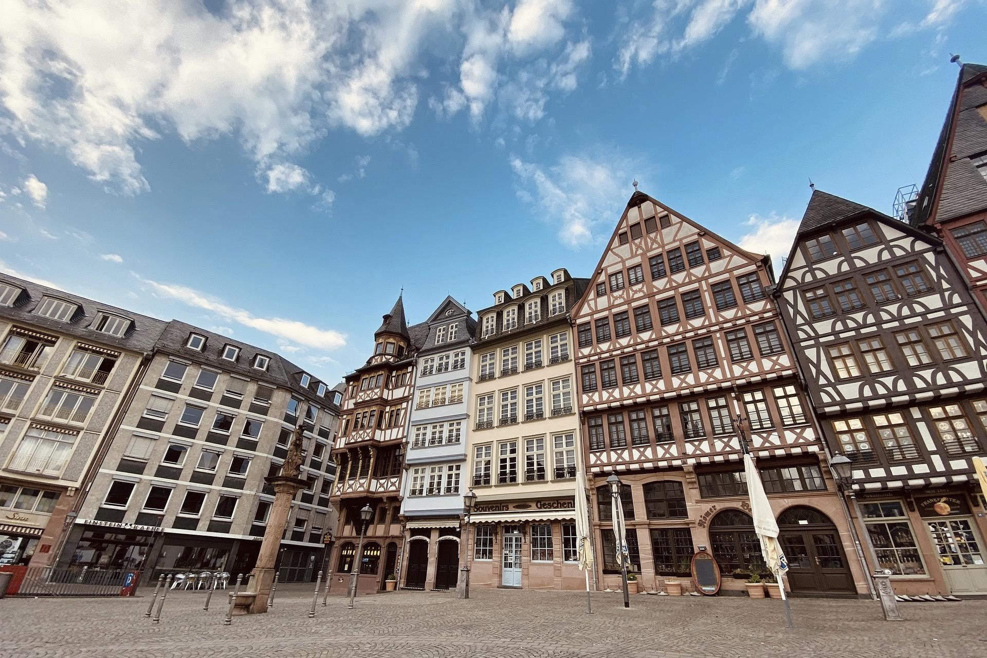 Der Frankfurter Römer ist ein schönes Ausflugsziel im Mai