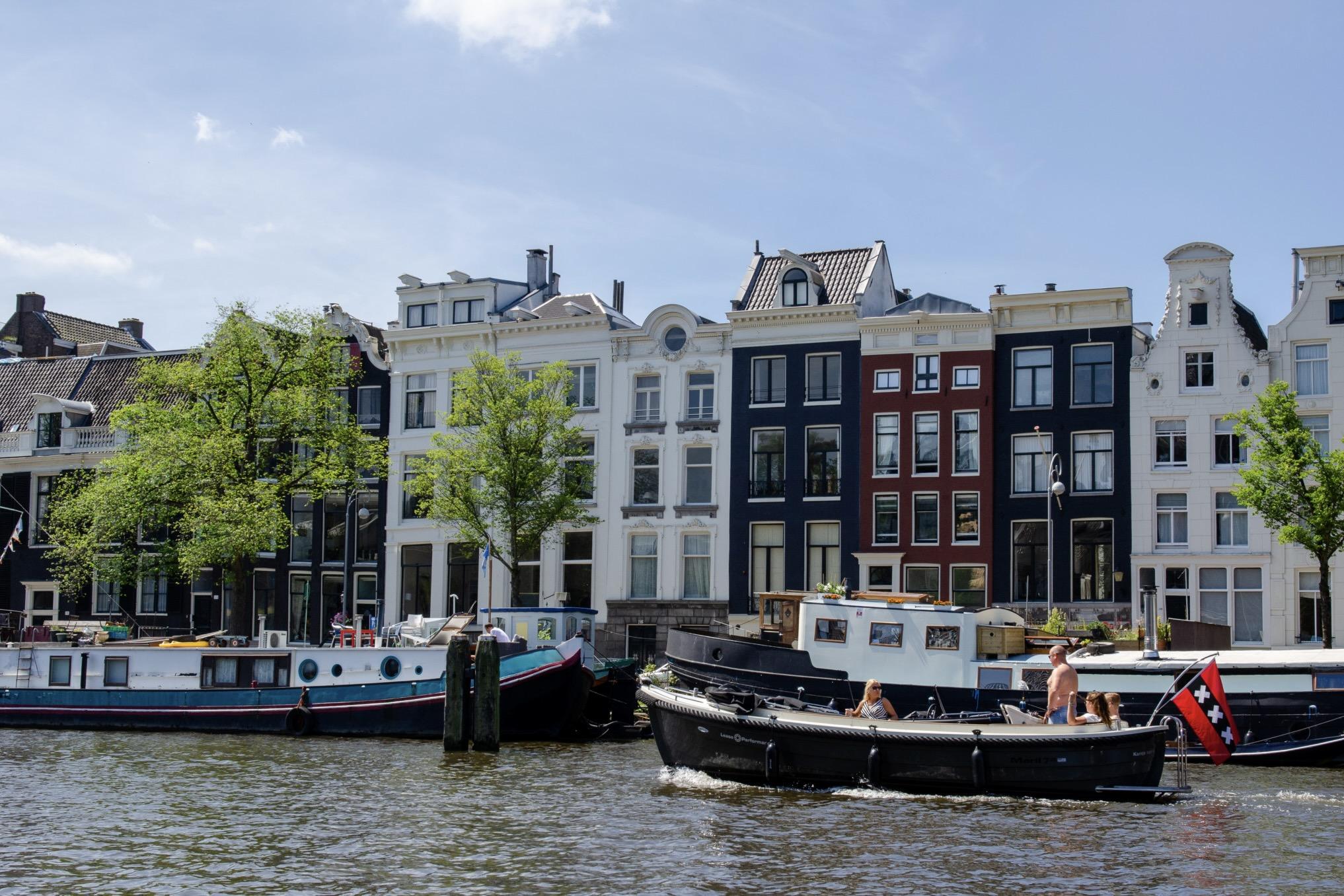 Amsterdam als Urlaubsziel im Mai