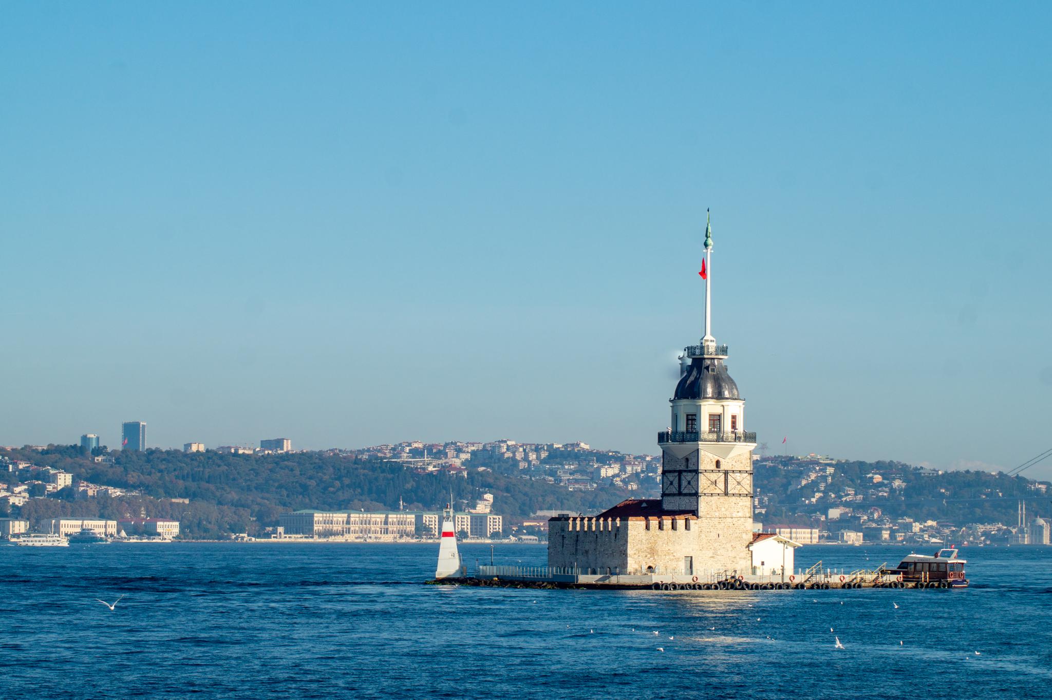 Kiz Kulese –eine der unbekannten Sehenswürdigkeiten in Istanbul