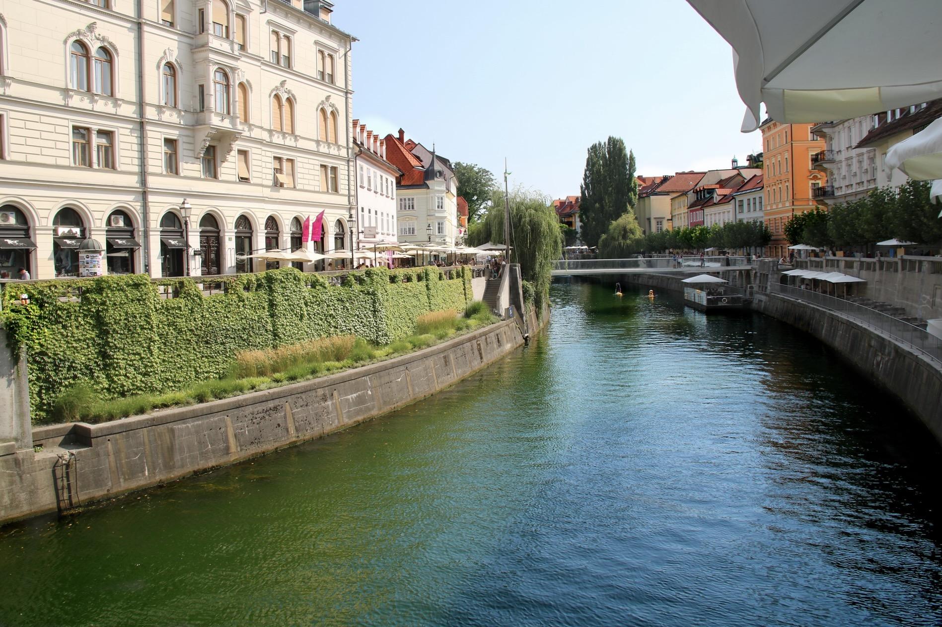 Urlaub in Ljubljana in Slowenien im Mai