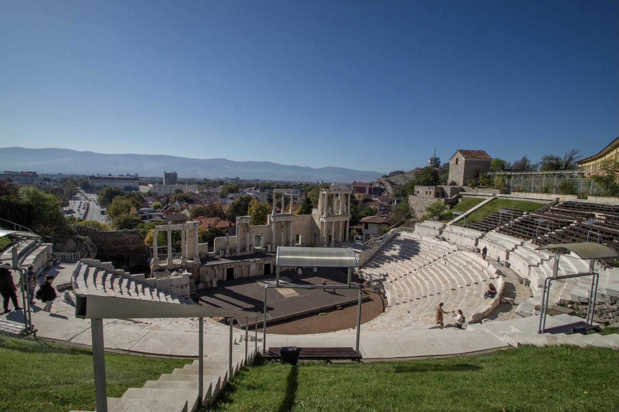 Eines der besten Reiseziele im Mai ist Plovdiv in Bulgarien