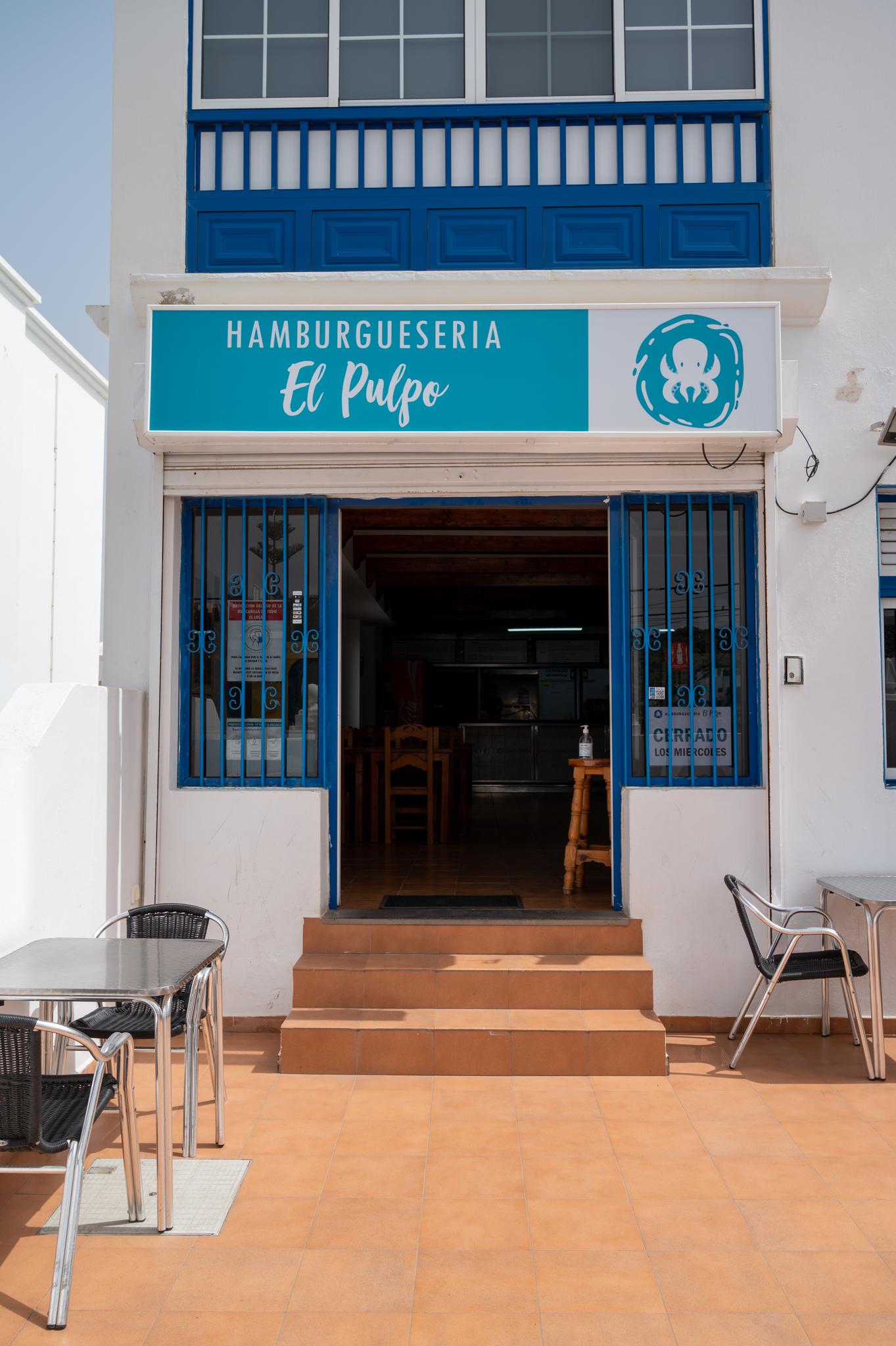 Eines der einfachen Restaurants auf Lanzarote