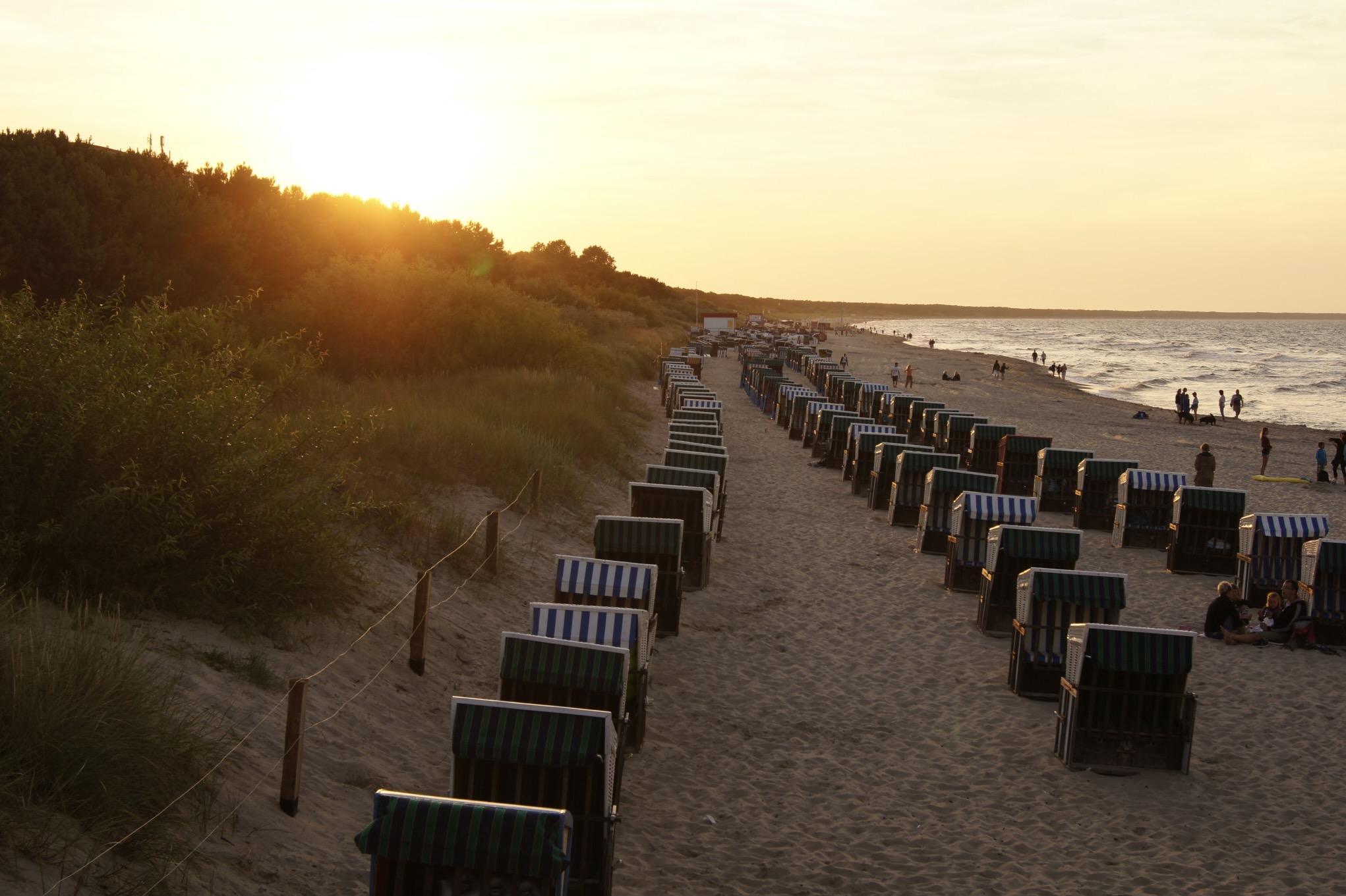 Die Ostsee ist ein gutes Reiseziel im Mai
