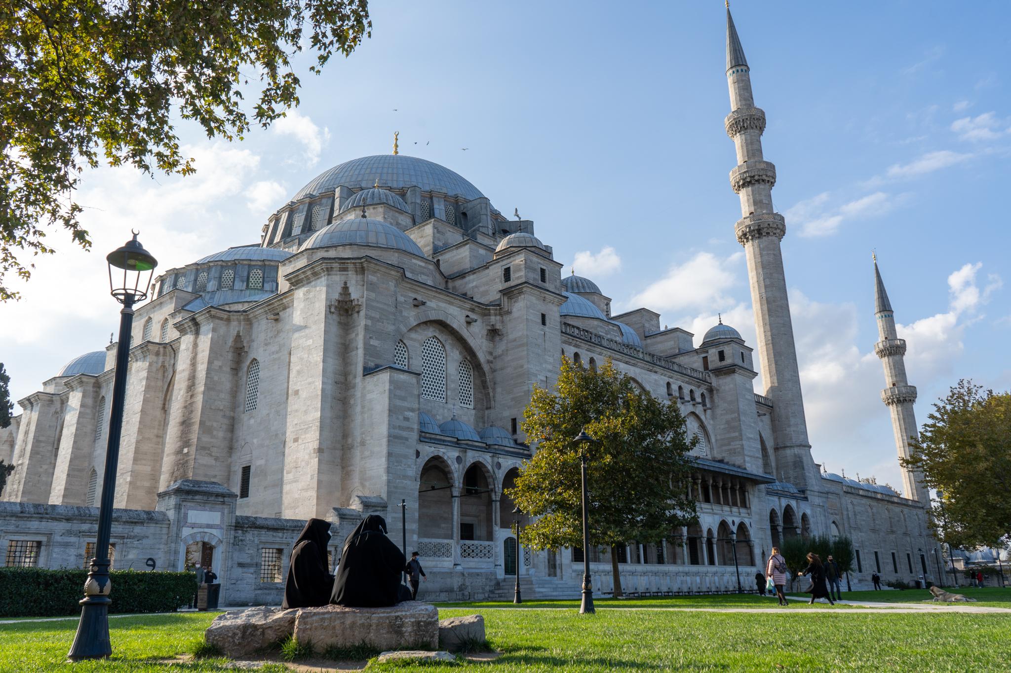 Suleymanye Moschee in Istanbul