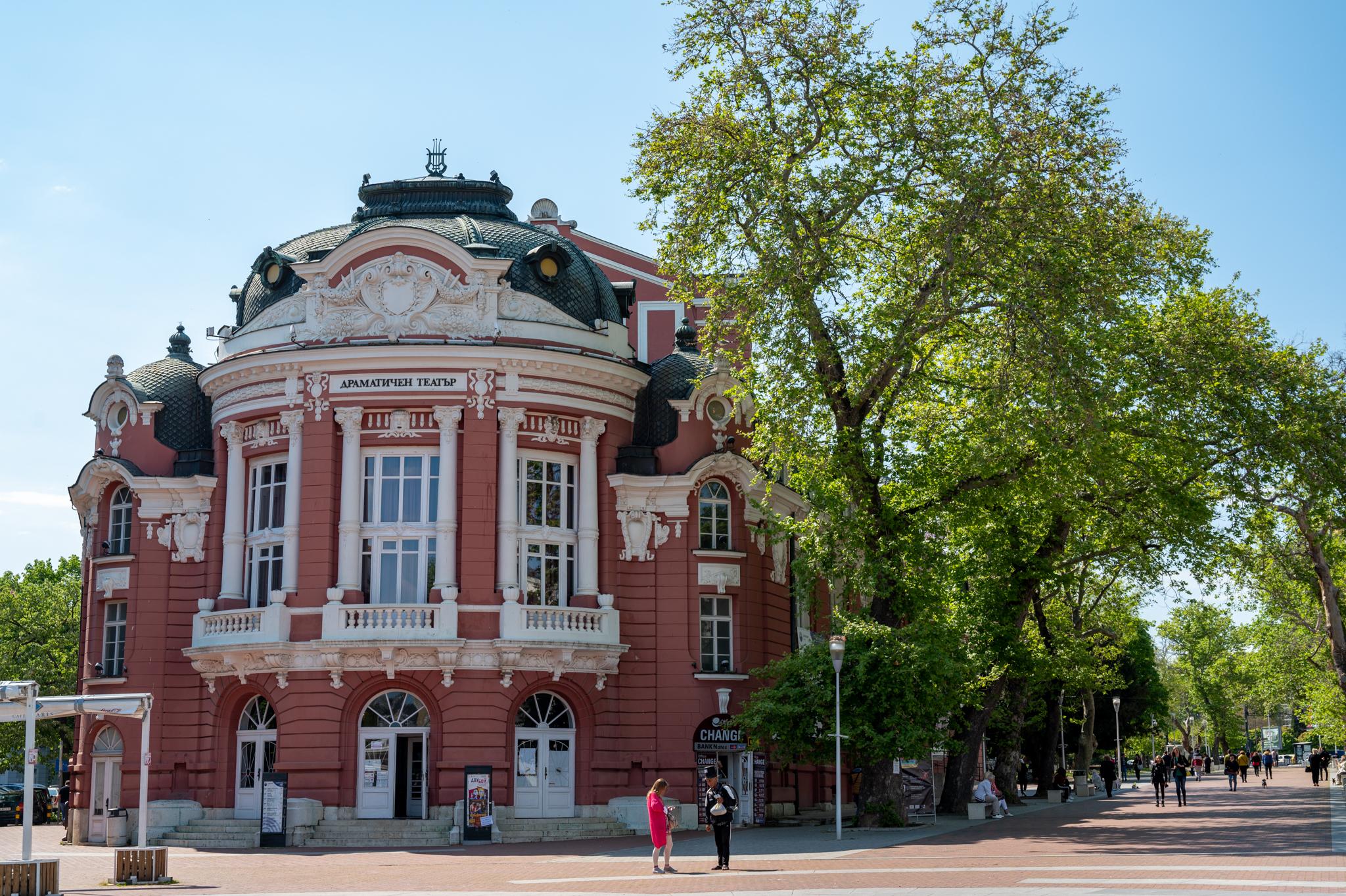 Art-Déco in Varna