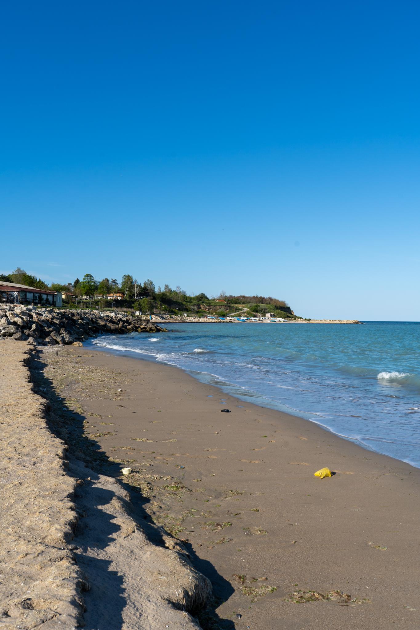 Einer der unbekannten Bulgarien Strände: Shabla Beach