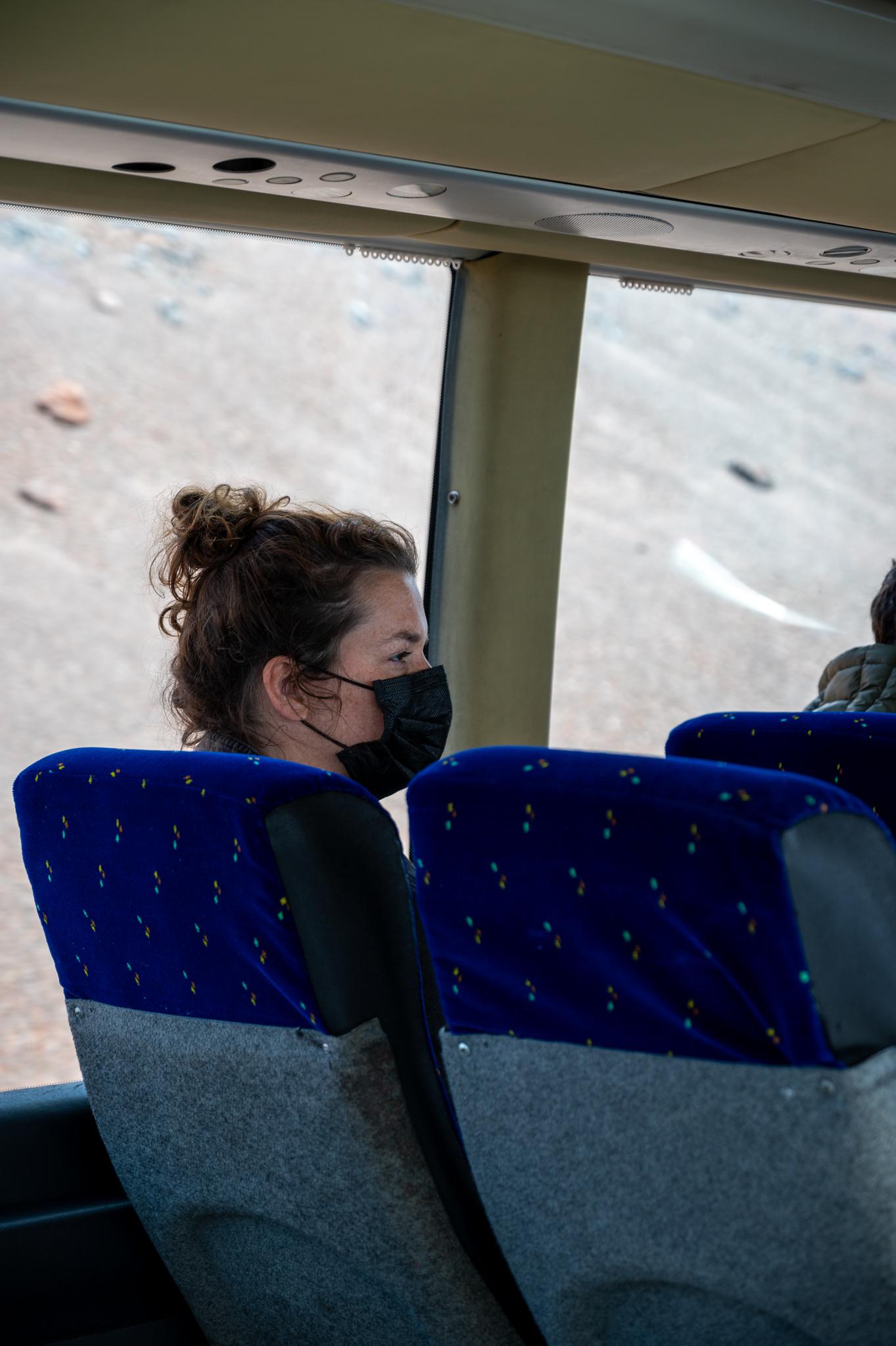Mit dem Bus durch den Timanfaya Nationalpark
