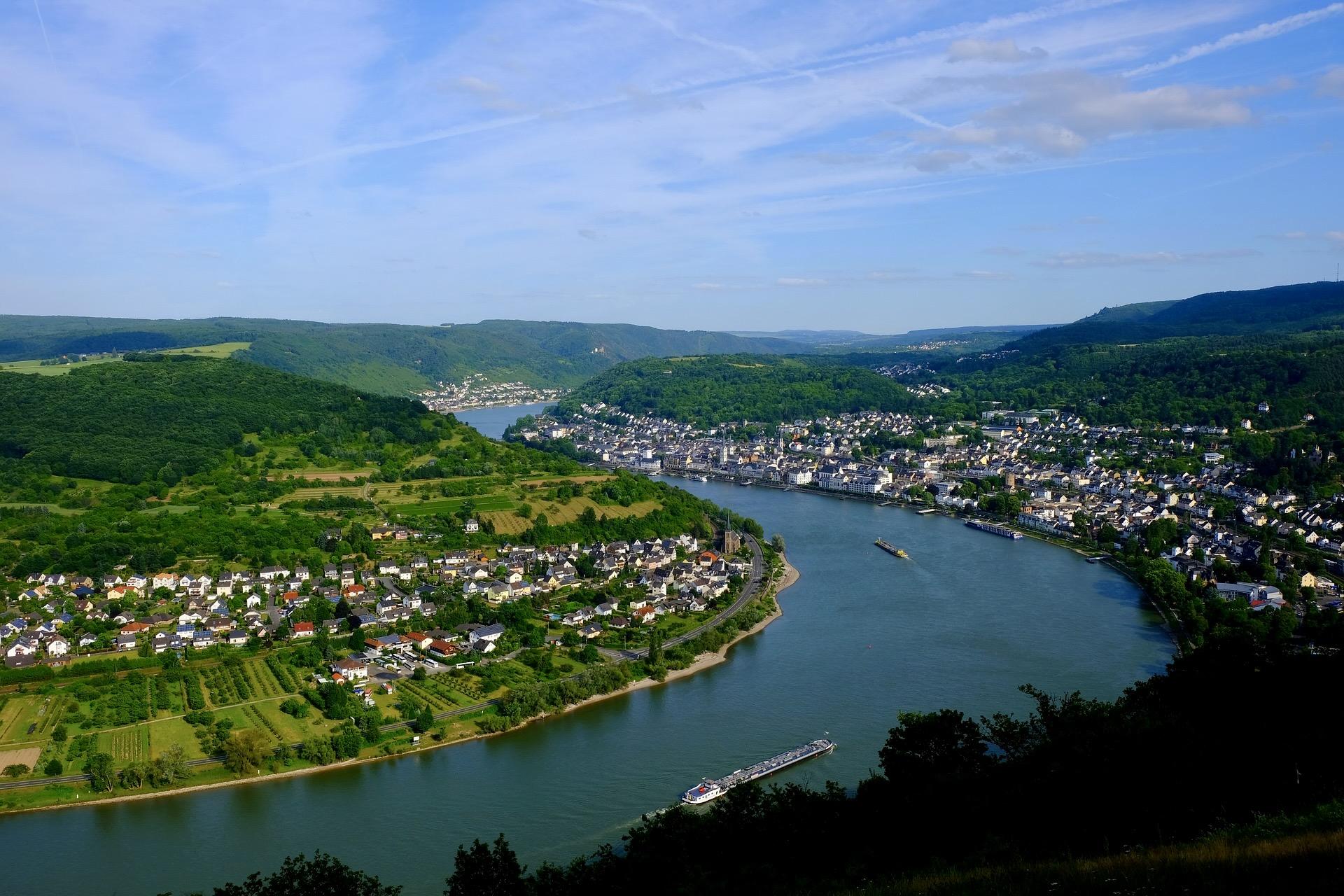 Mittelrhein Bahn in Deutschland: Eine der schönsten Zugstrecken