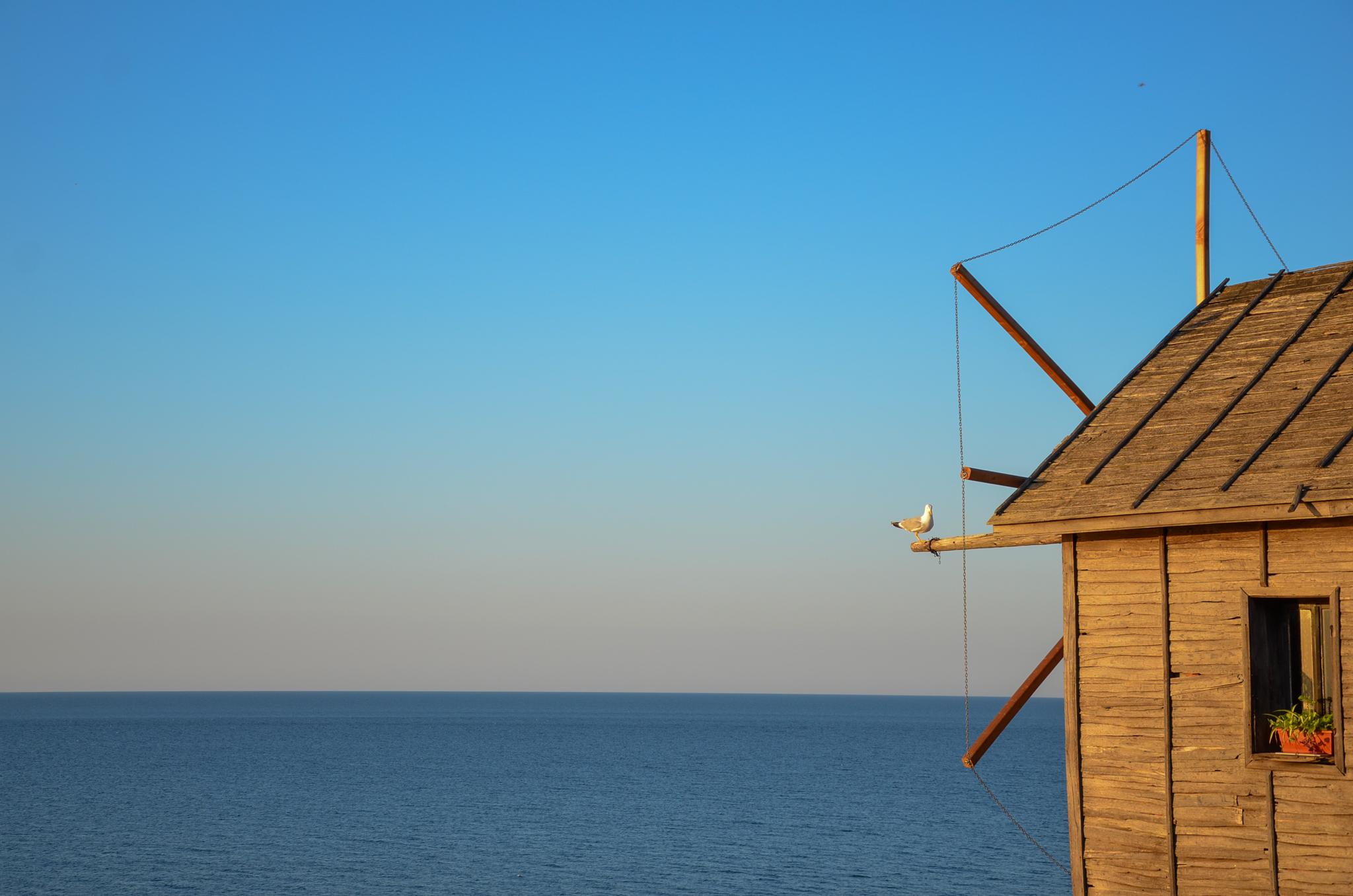 Windmühle von Nessebar