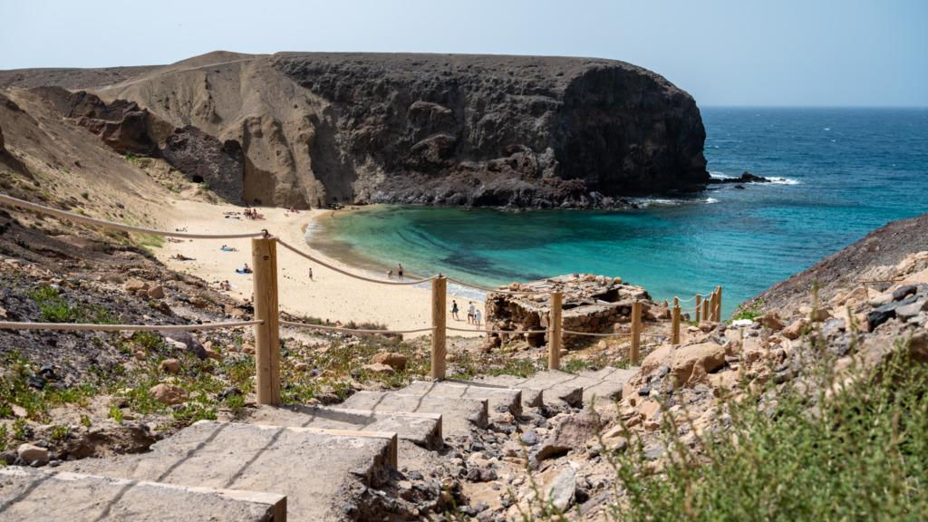 Papagayo Strände auf Lanzarote