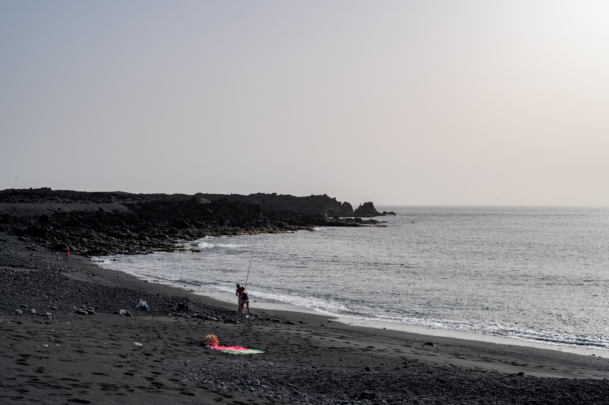 Playa de Montaña Bermeja Lanzarote