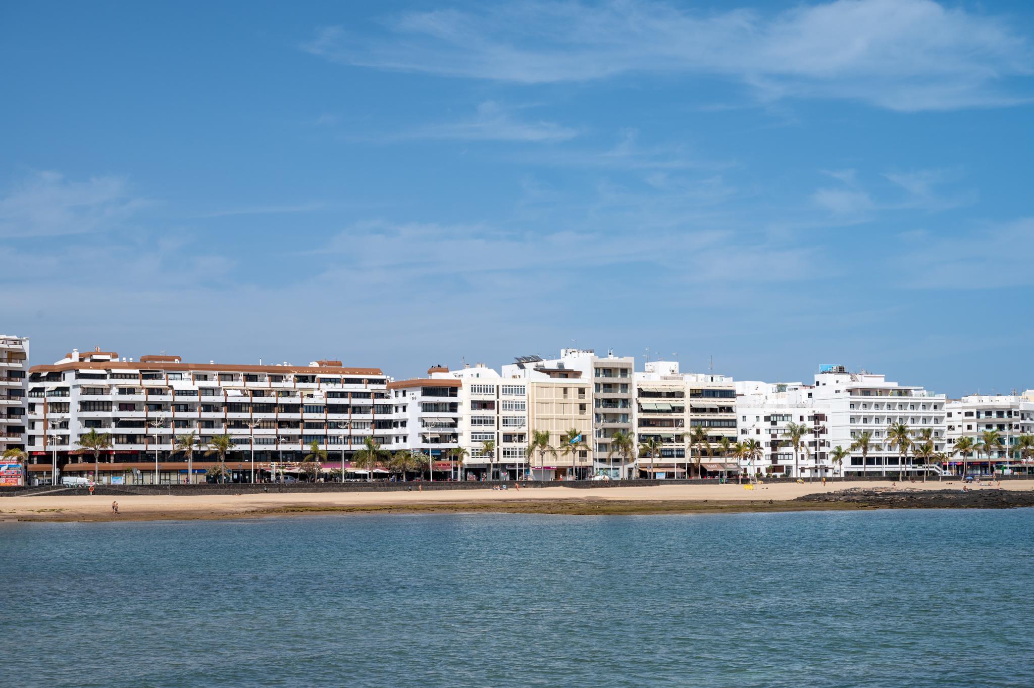 Playa del Reducto in Arrecife auf Lanzarote