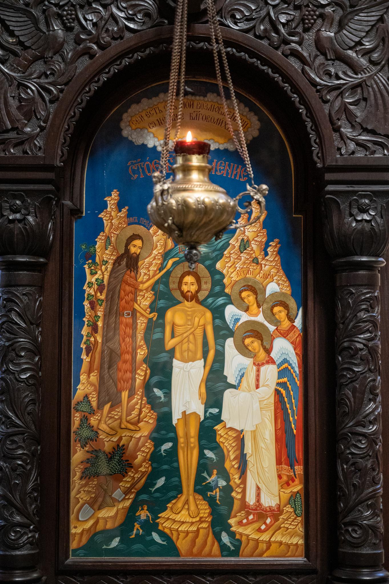 Innen in der Muttergottes-Kathedrale in Varna