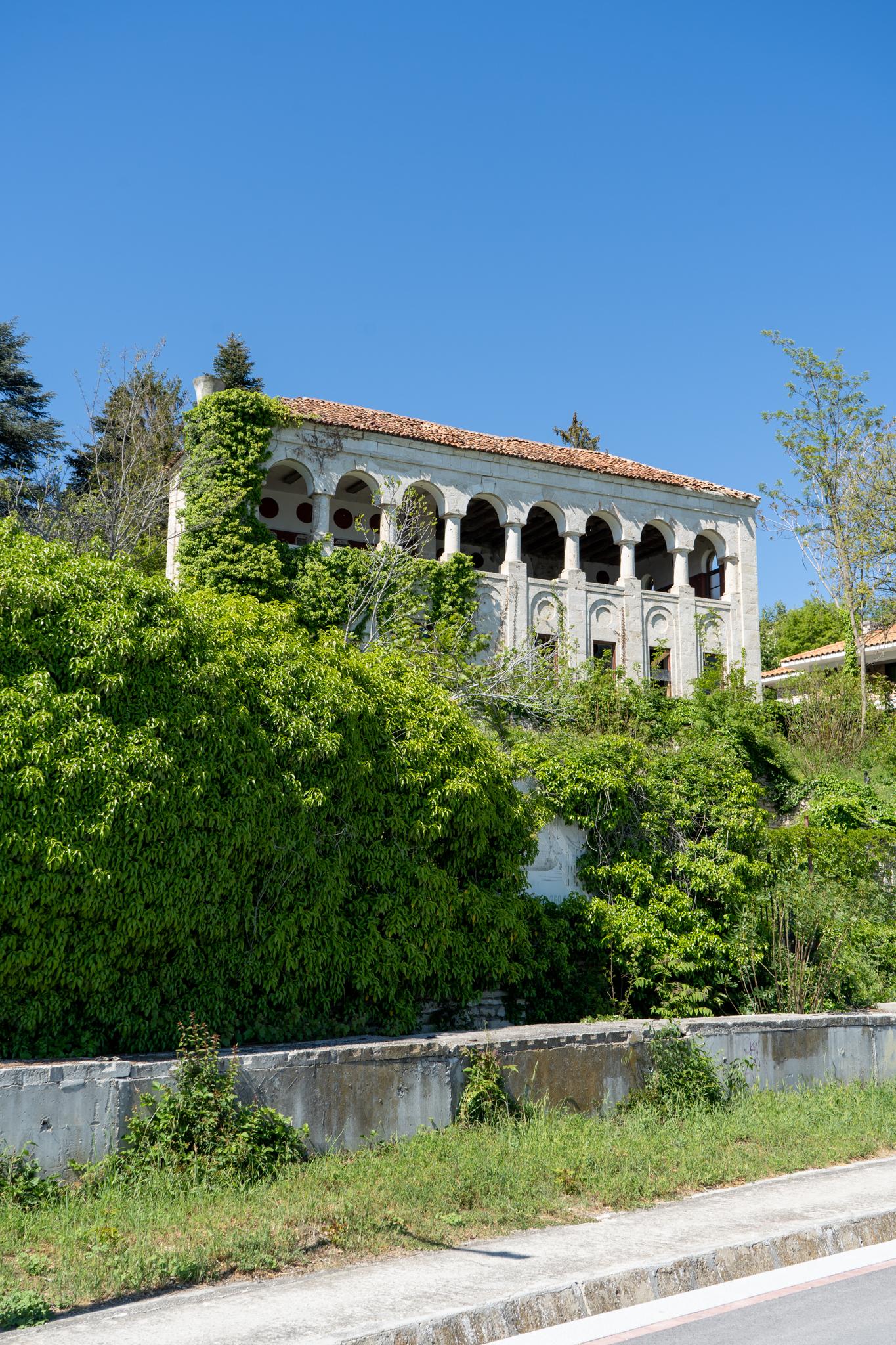 Sommerpalast in Baltschik in BUlgarien