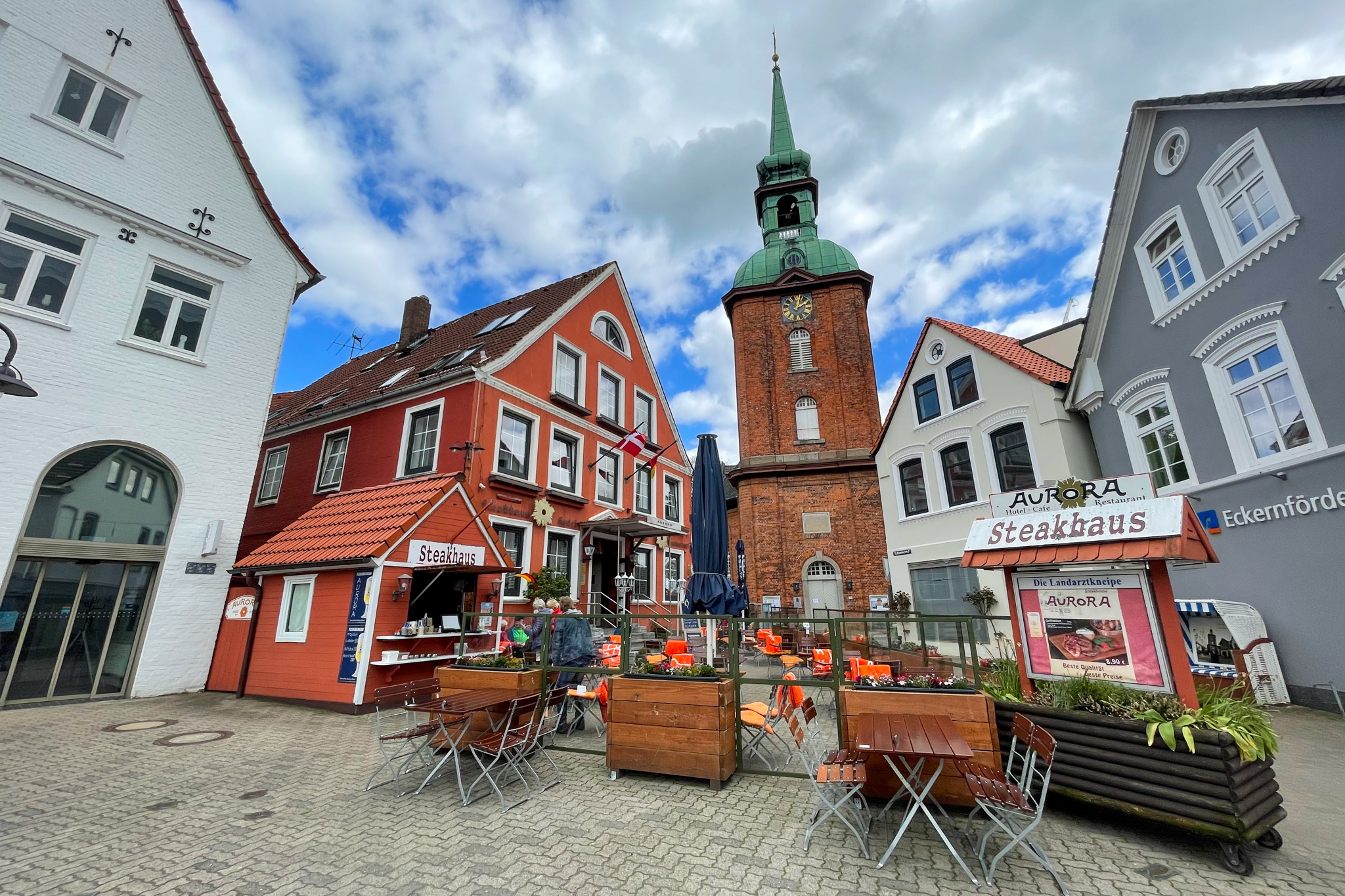 Altstadt in Kappeln an der Schlei