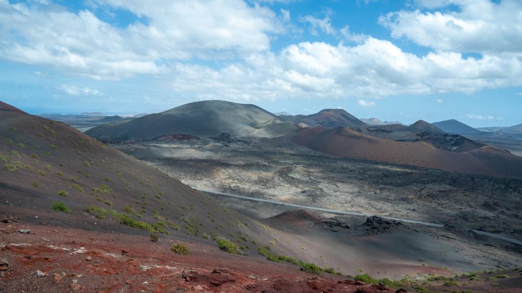 Blick über den Timanfaya Nationalpark