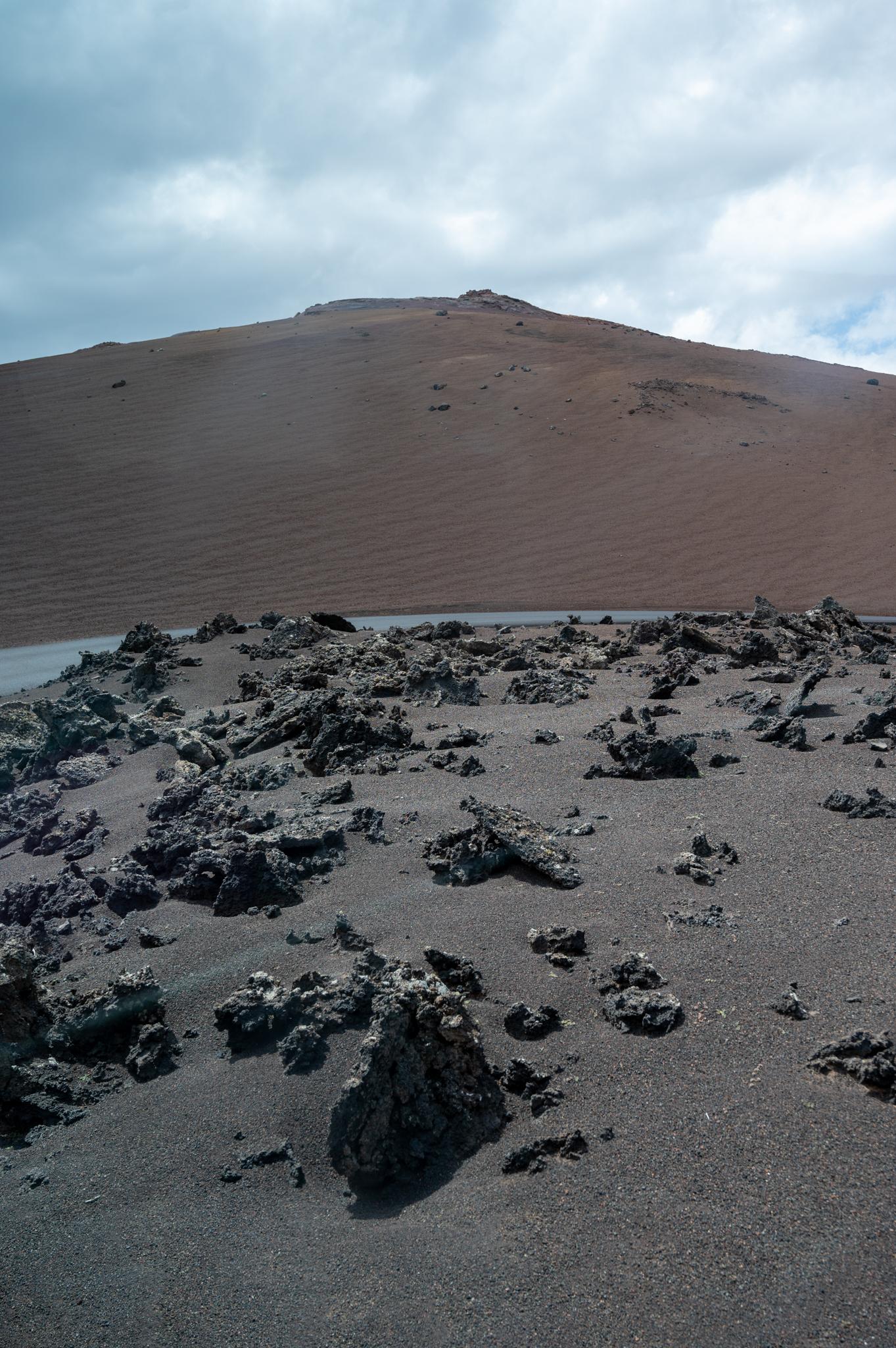 Landschaft in Timanfaya