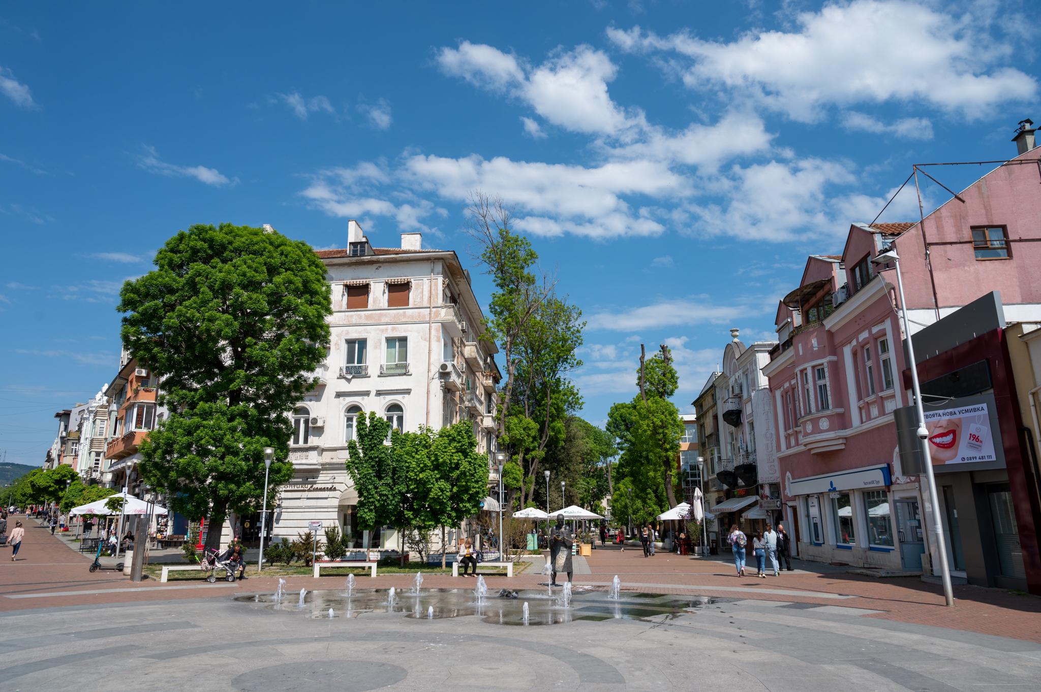 Varna Bulgarien: Spaziergang durch die Innenstadt
