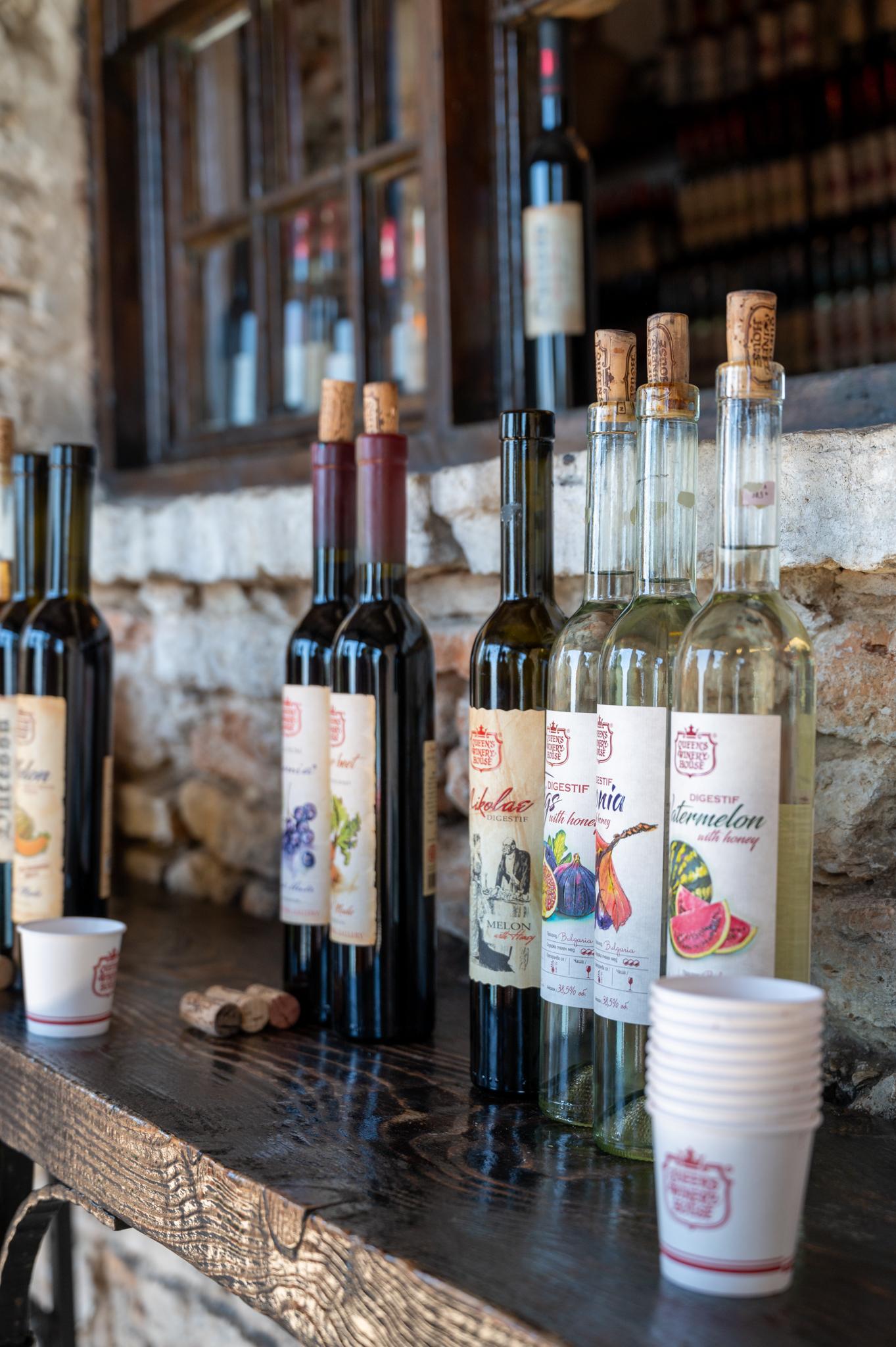 Queen's Winery House im Botanischen Garten in Baltschik in Bulgarien