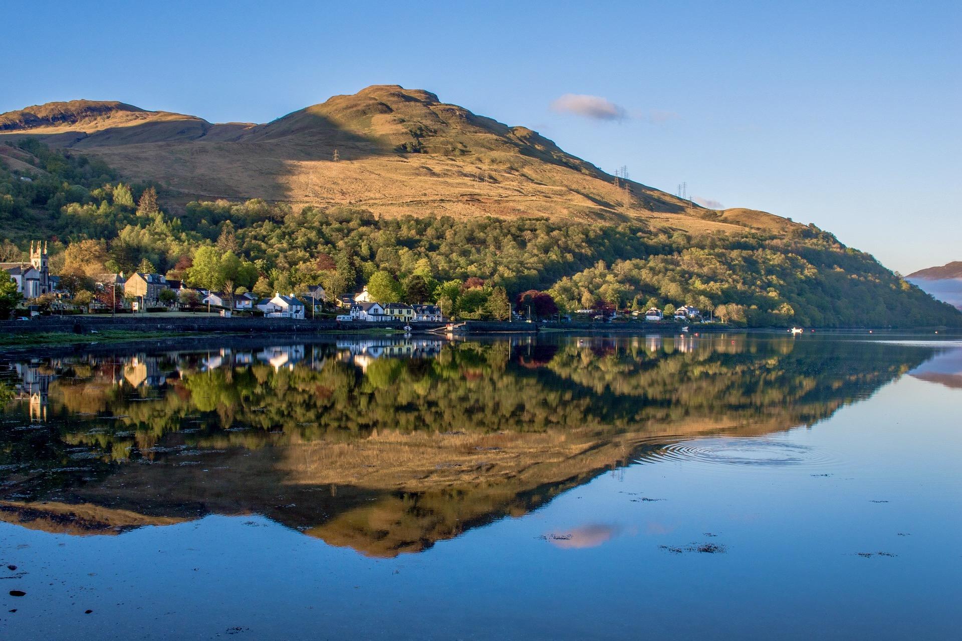West Highland Express in Schottland
