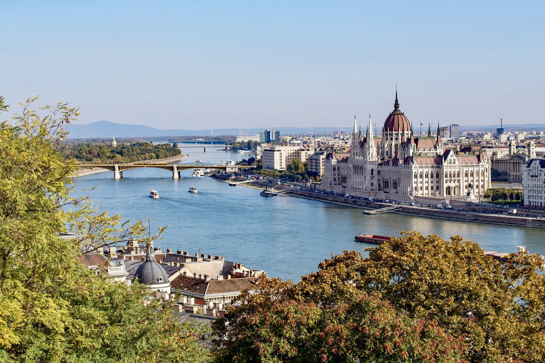Budapest mit dem Zug