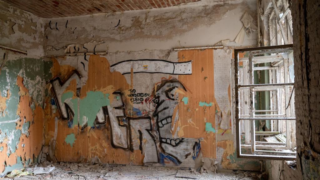 Graffiti in Beelitz