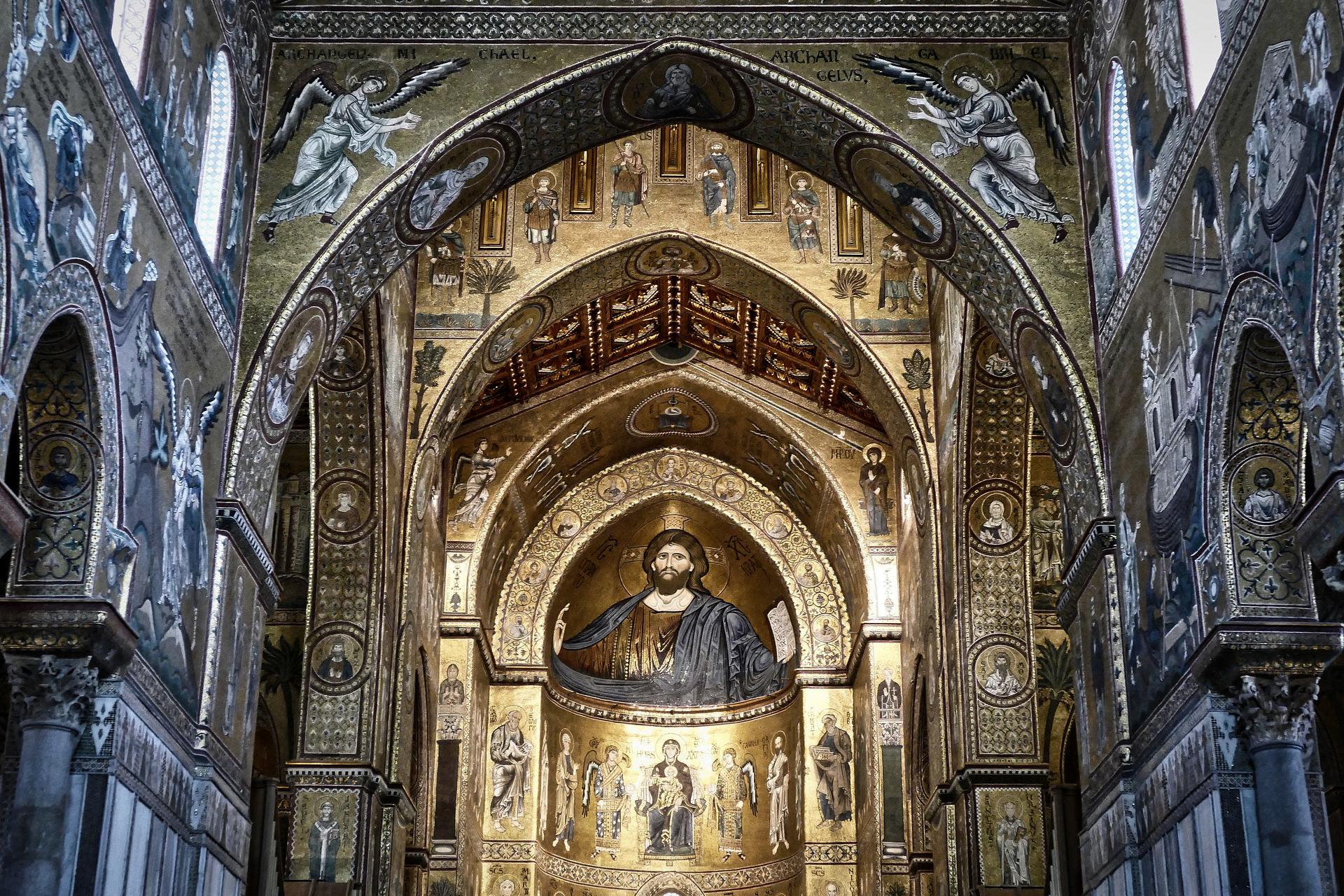 Der Dom Monreale in Palermo ist sehenswert
