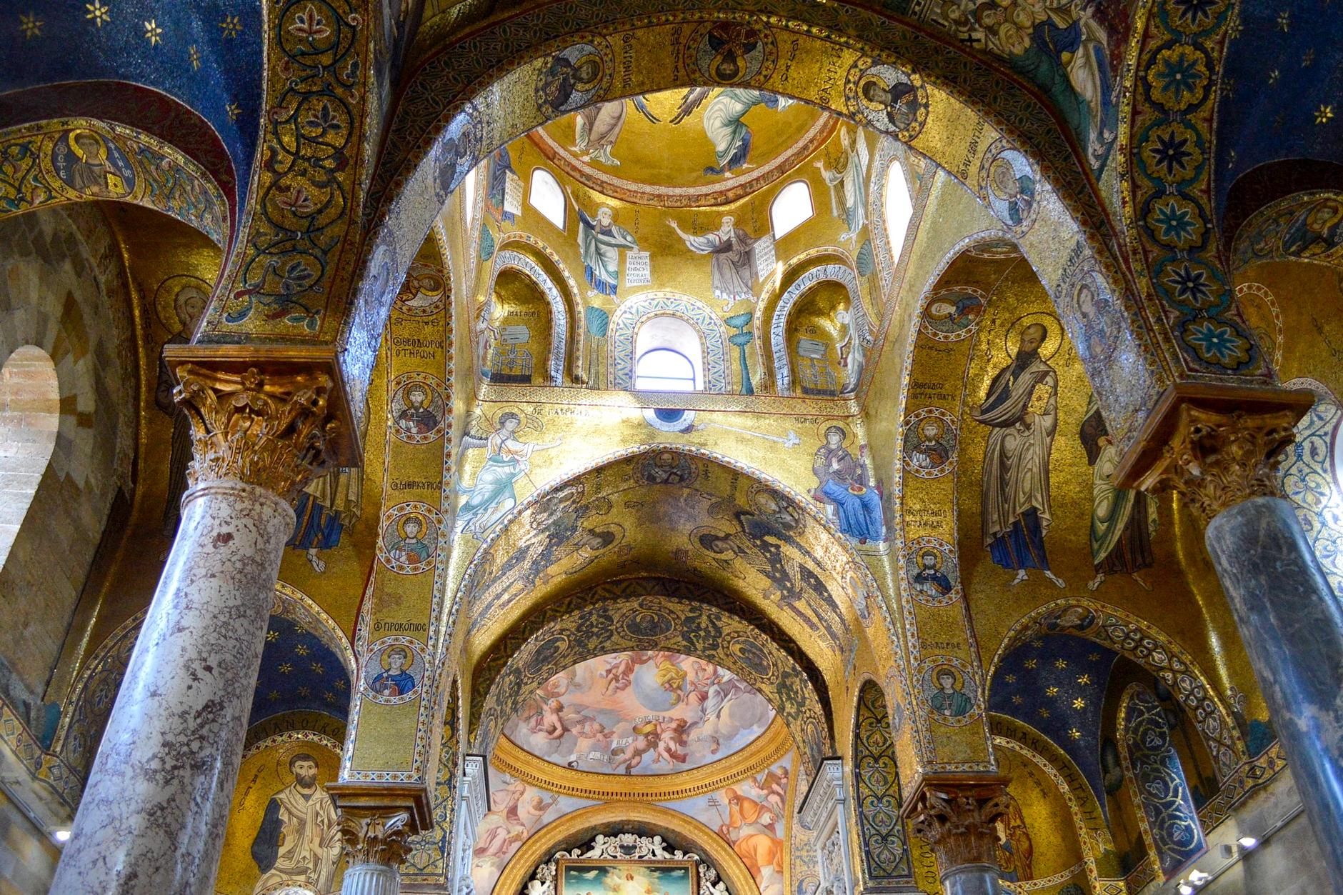 Die Mosaike in den Kirchen von Palermo