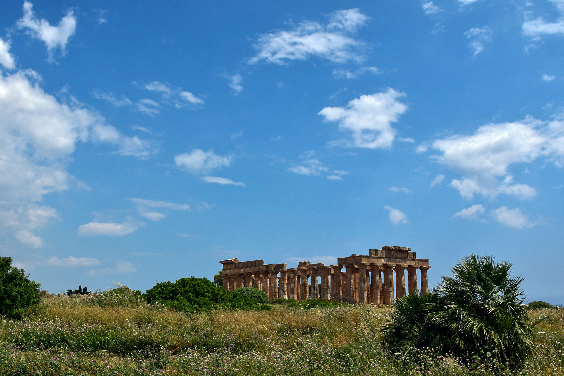 Selinunt auf der Insel Sizilien