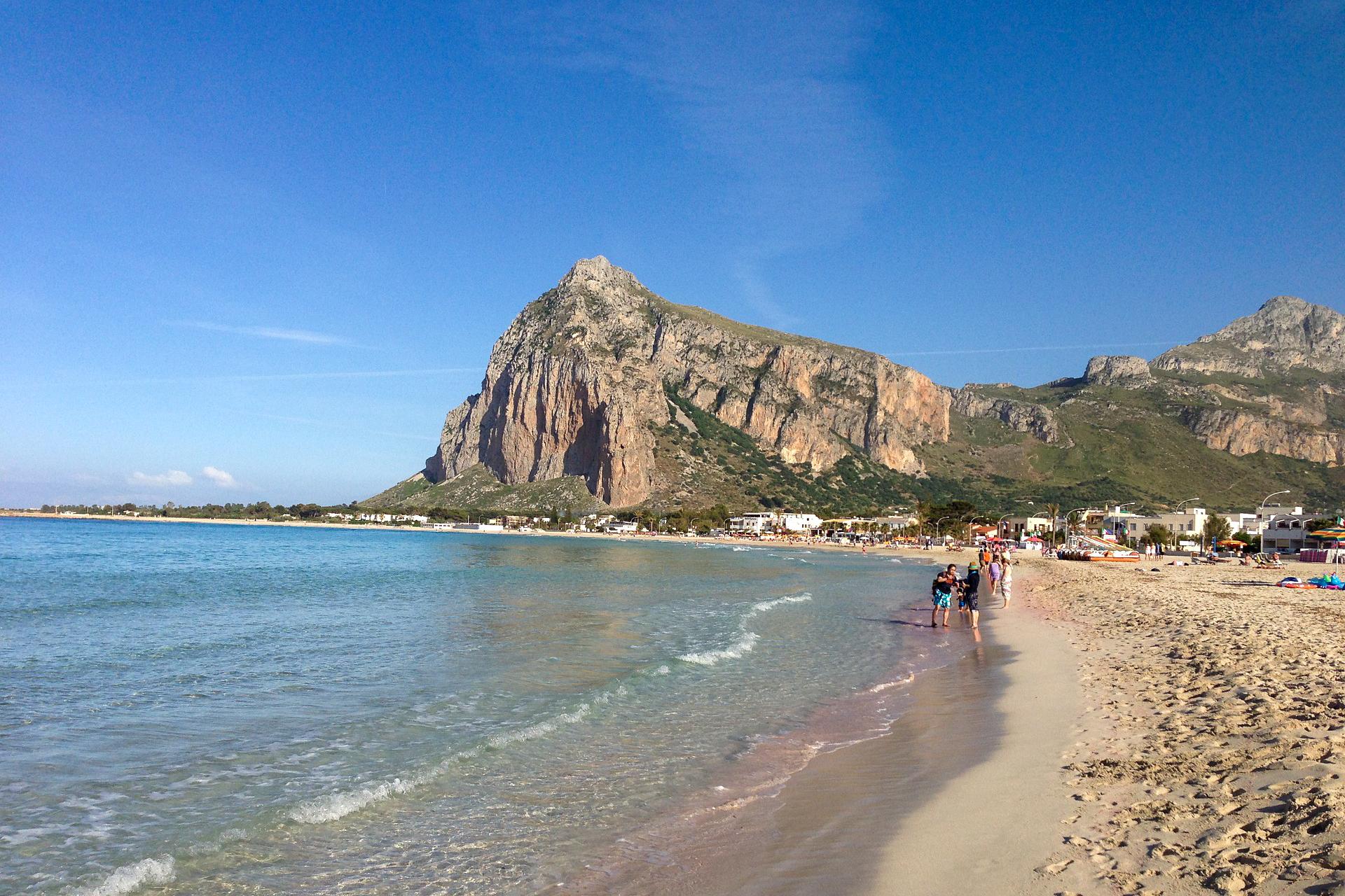 Der sizilianische Strand San Vito lo Capo