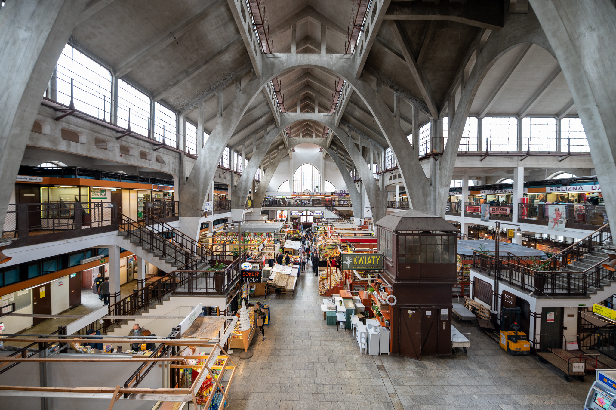 Markthalle in Wroclaw