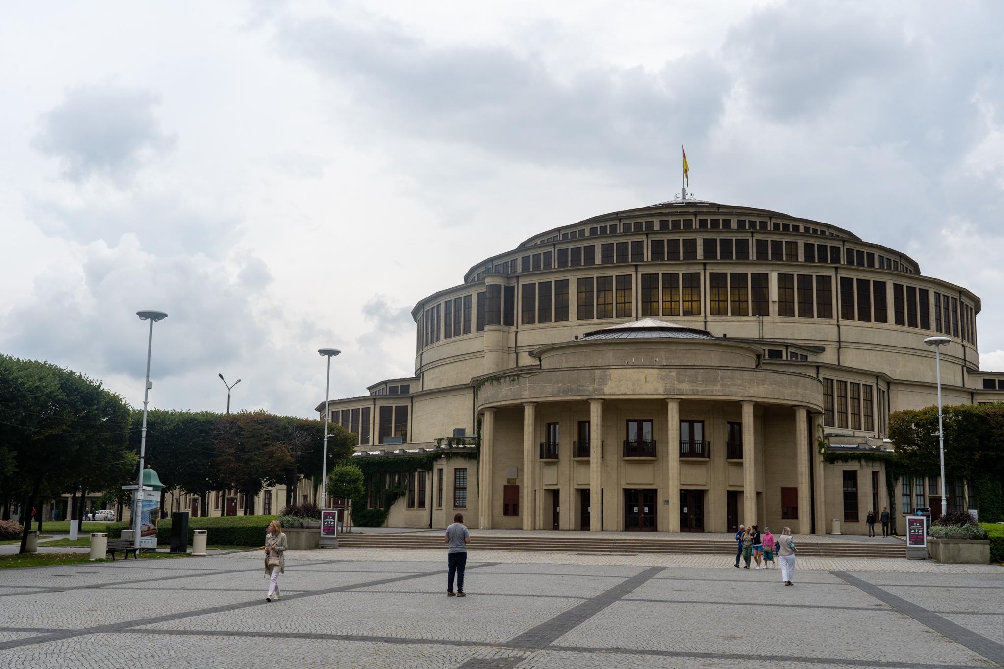 Breslau Sehenswürdigkeiten: Jahrhunderthalle