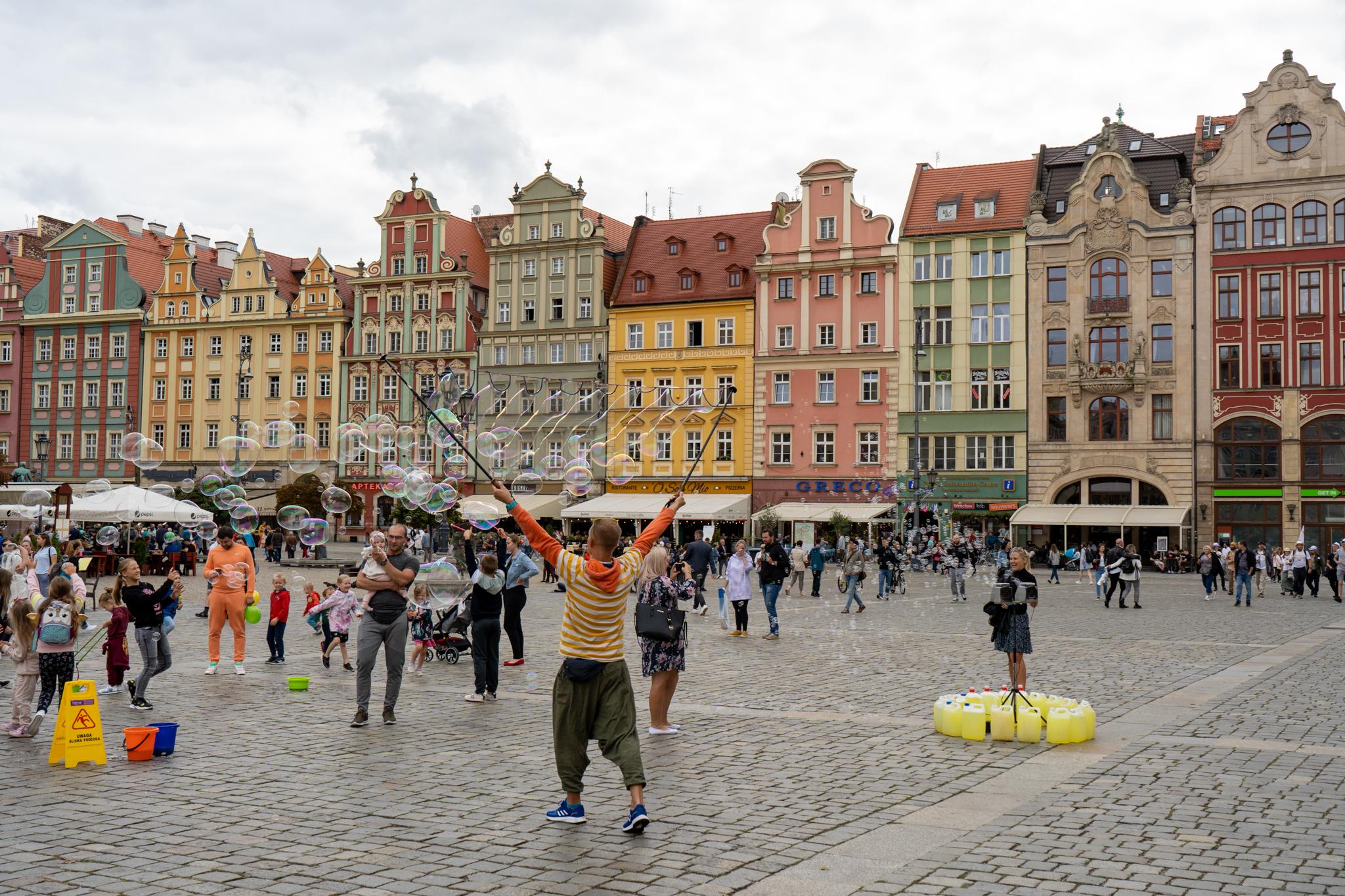 Breslau Sehenswürdigkeiten am Rynek