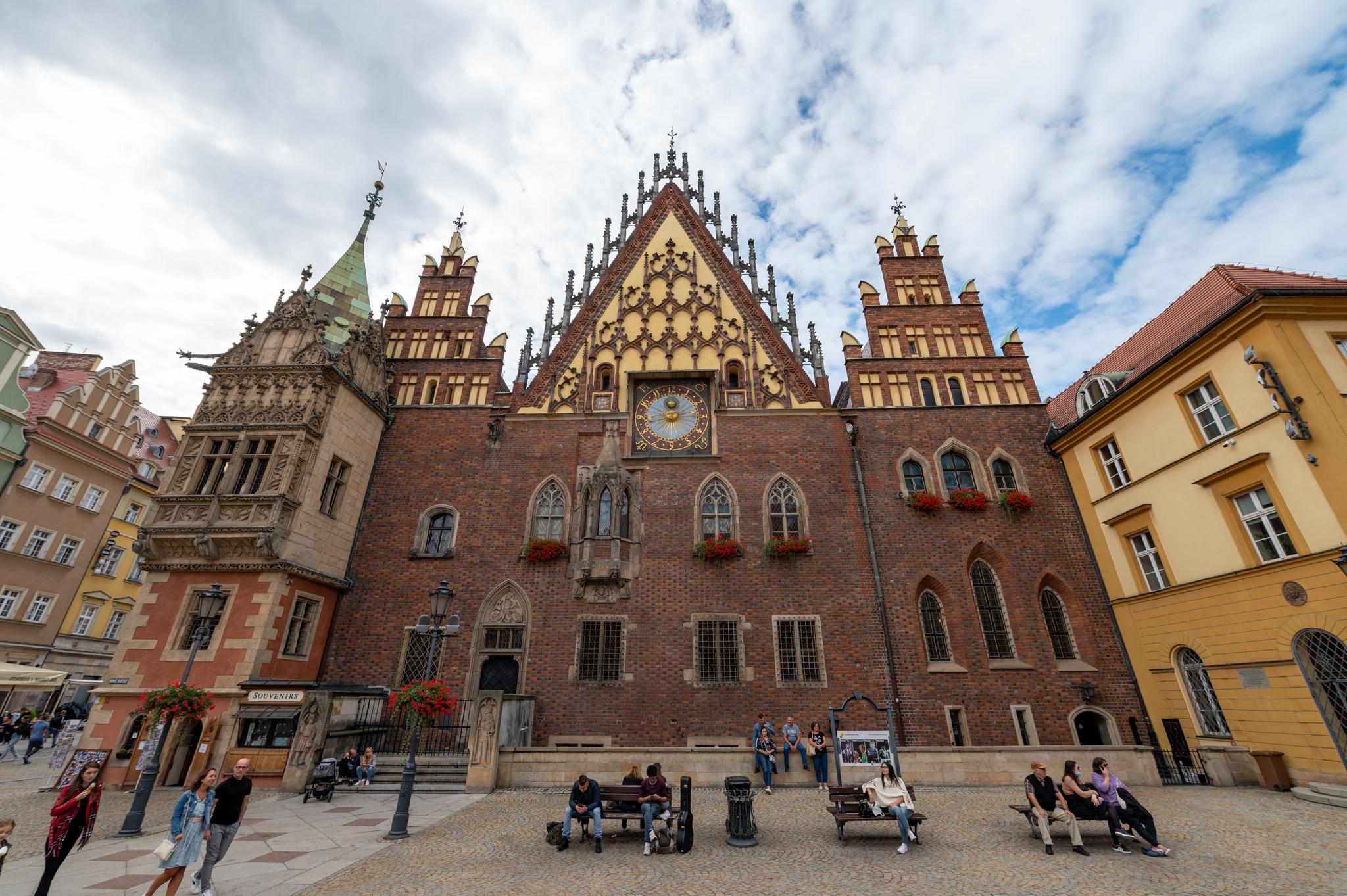 Breslau Sehenswürdigkeiten: Das Rathaus