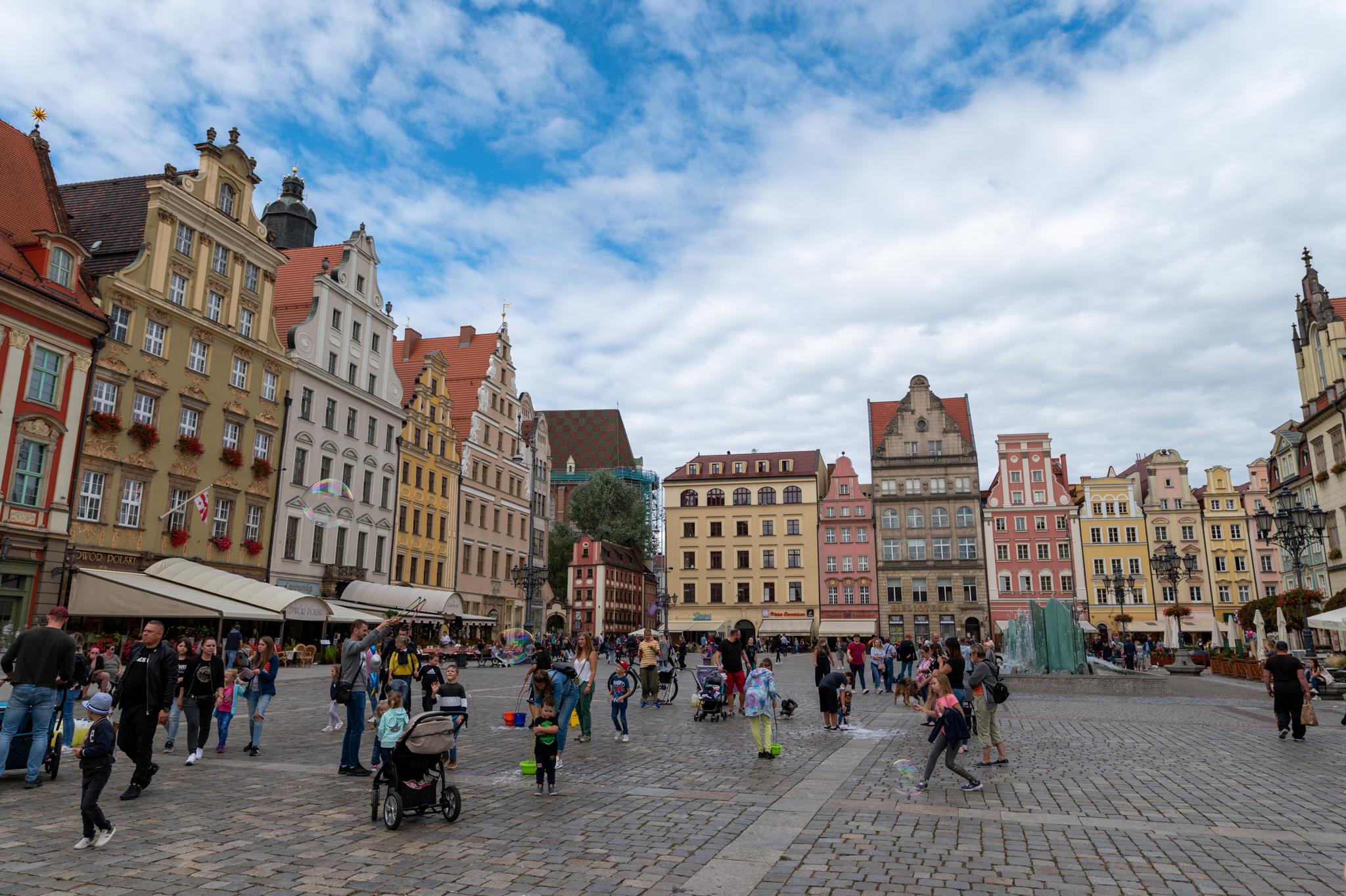 Rynek in Breslau